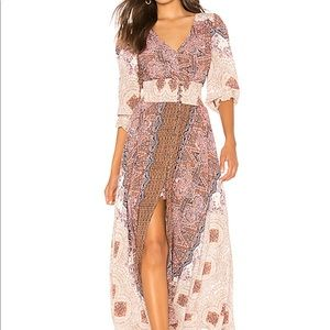 Free People Mexicali Rose Maxi